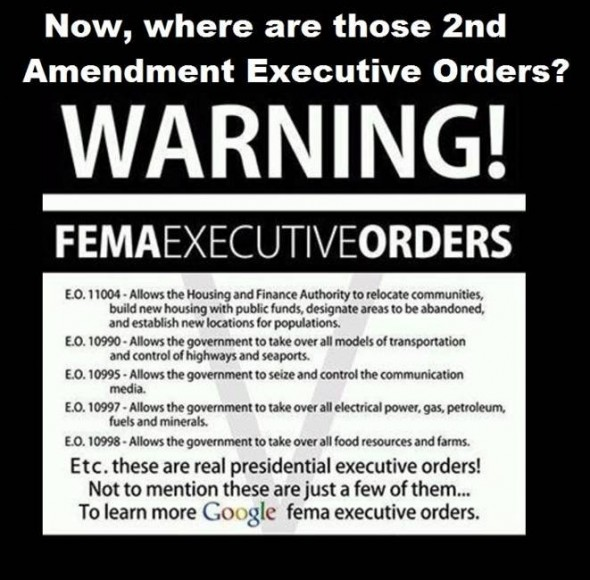 femaexecutiveorders