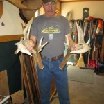 200″ Deer Antler Sheds Found in Downeast Maine