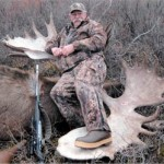 1,500-Pound Bull Moose Taken in Hunt