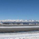 Looking East Across Anchorage, Alaska