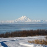 Mt. Redoubt and Mt. Iliamna, Alaska
