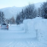 Anchorage Snowbanks
