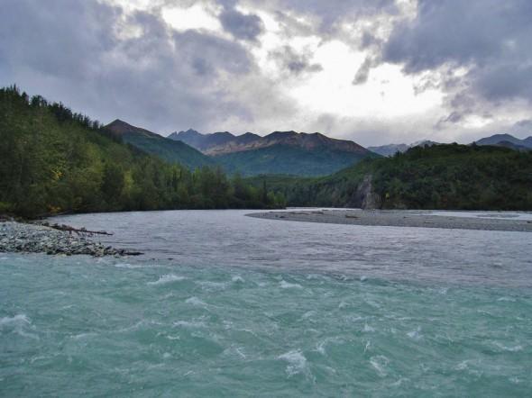 confluence kings and matanuska rivers alaska