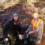 Two Maine Men in Successful Moose Hunt