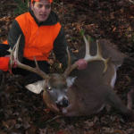 16 Pts., 235 Lbs, 33″ Antler Spread