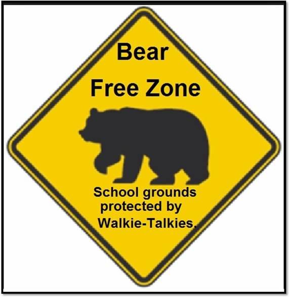 BearFreeWalkieTalkie
