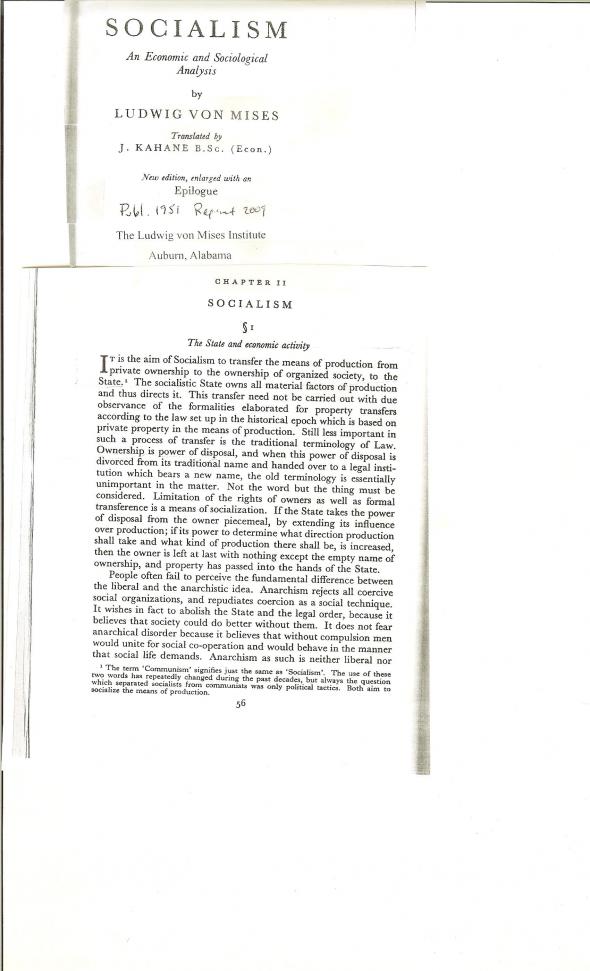 Ludwig von Mises 1 001