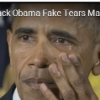 Obama Cries Over Violence, Americans Should Cry Over Lost Freedom