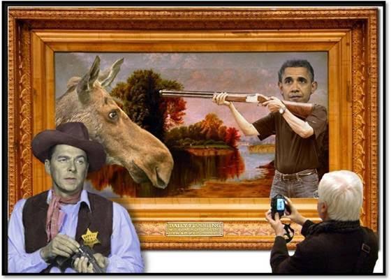 ObamaMooseHunting