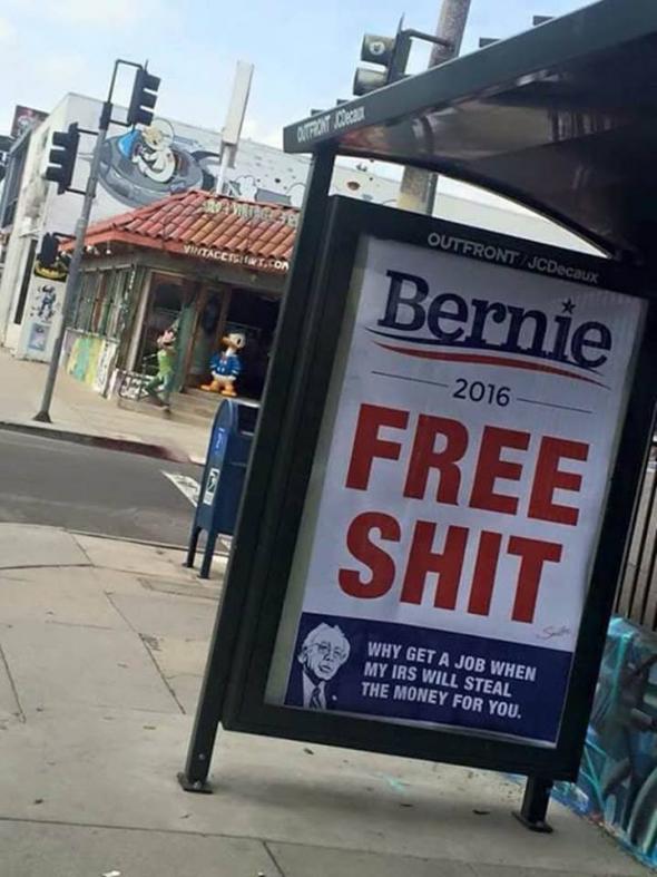 BernieFreeShit