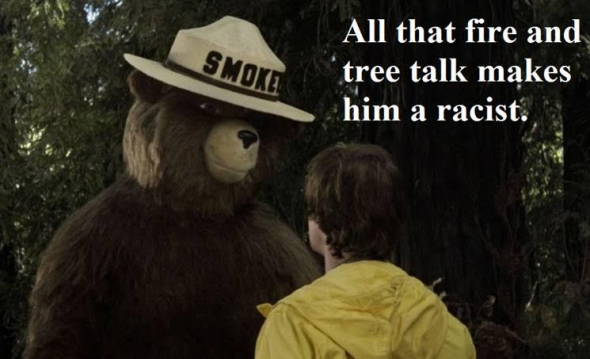 SmokeyBearRacist